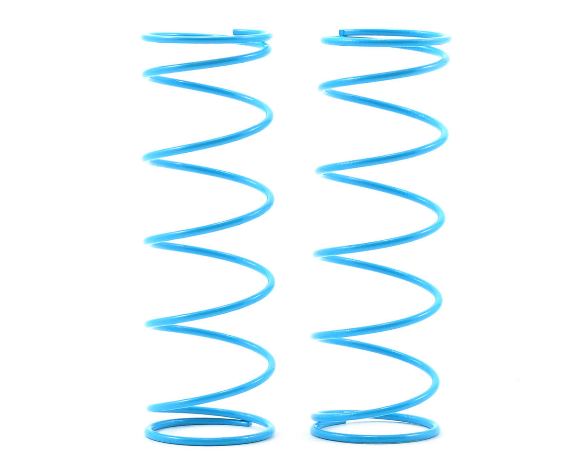 Kyosho Inferno MP777 70mm Big Bore Front Shock Spring (Light Blue) (2)
