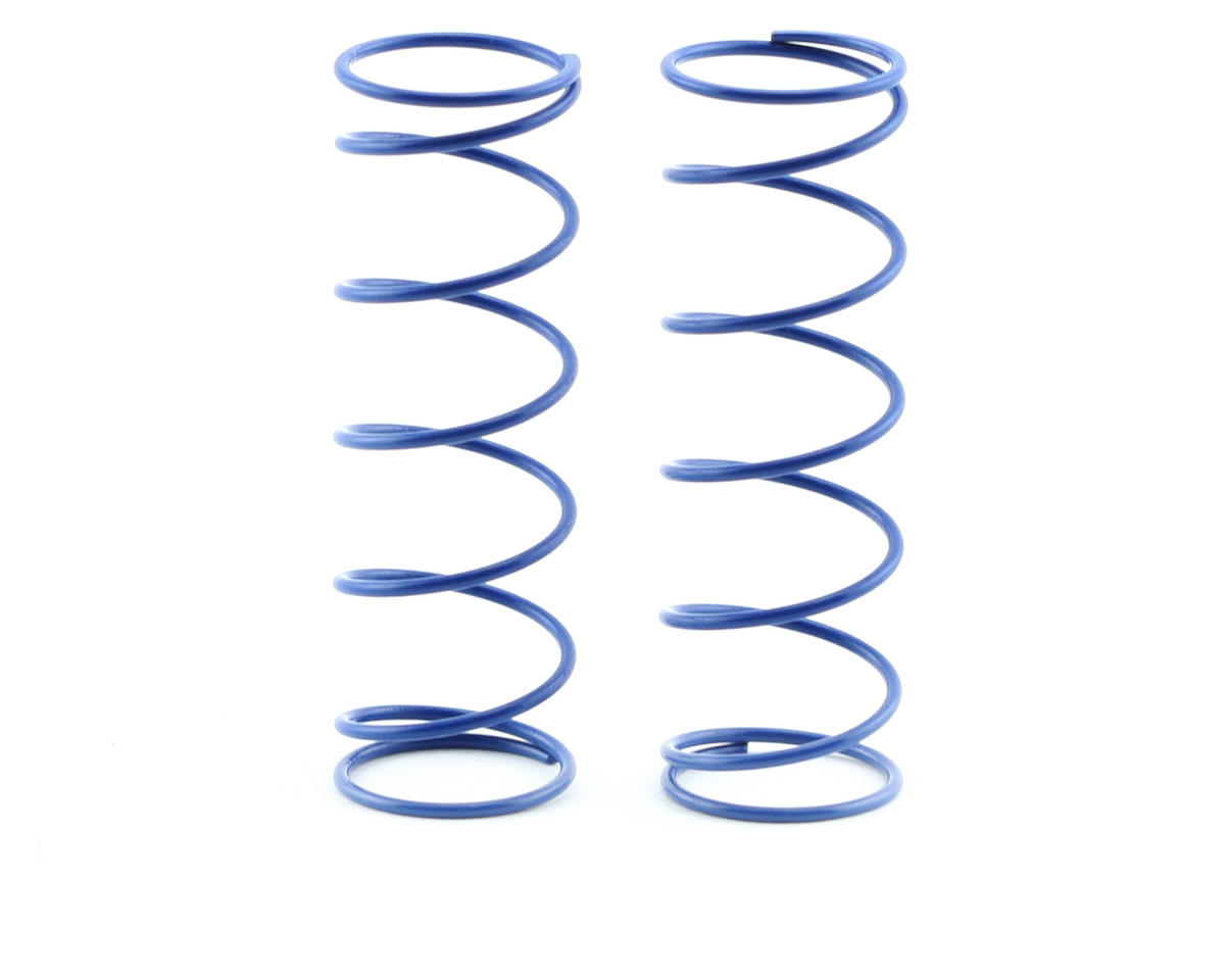 70mm Big Bore Front Shock Spring (Blue) (2) by Kyosho