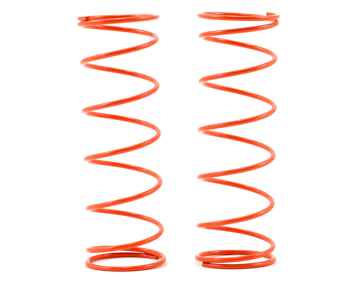 Kyosho 70mm Big Bore Front Shock Spring (Orange) (2)