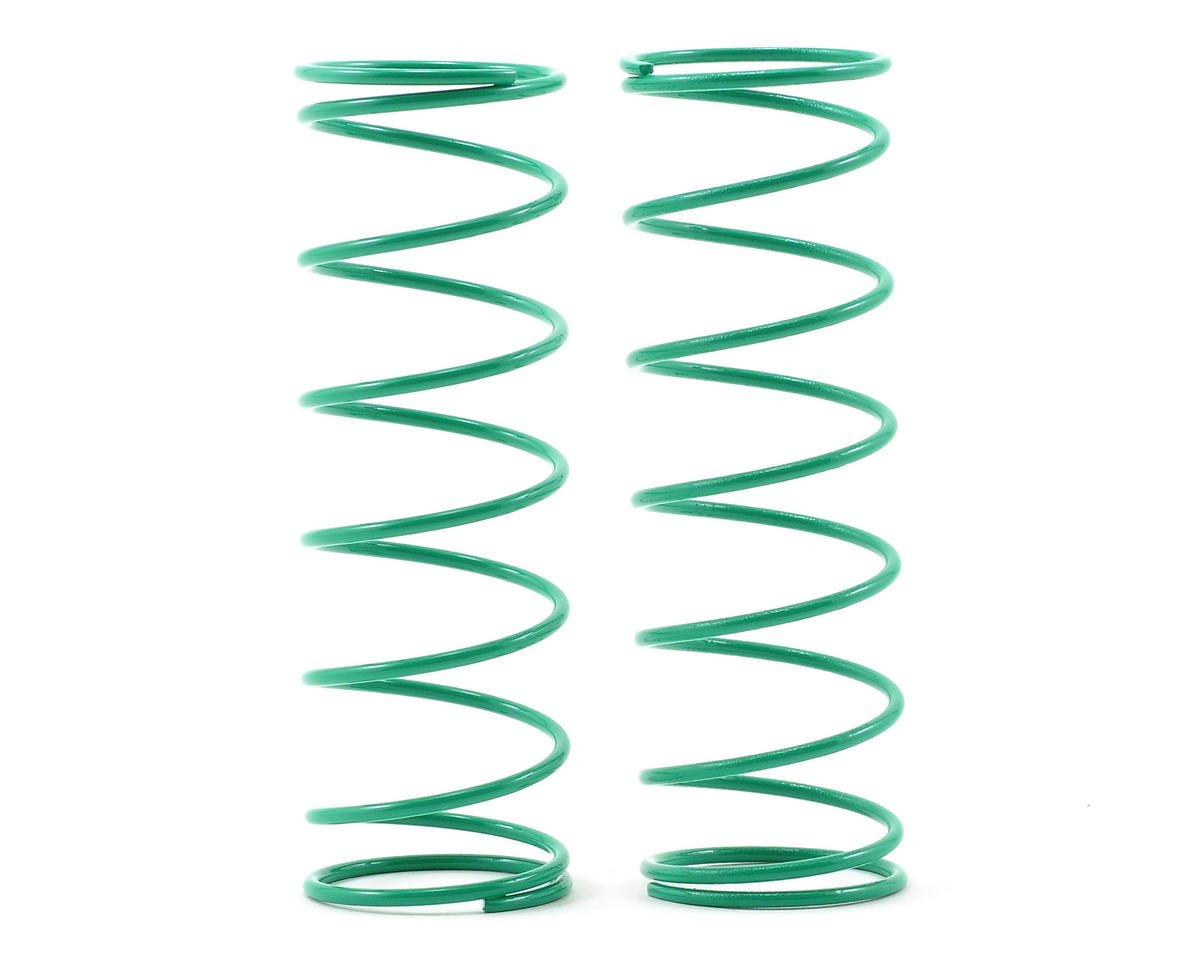 Kyosho 70mm Big Bore Front Shock Spring (Green) (2)