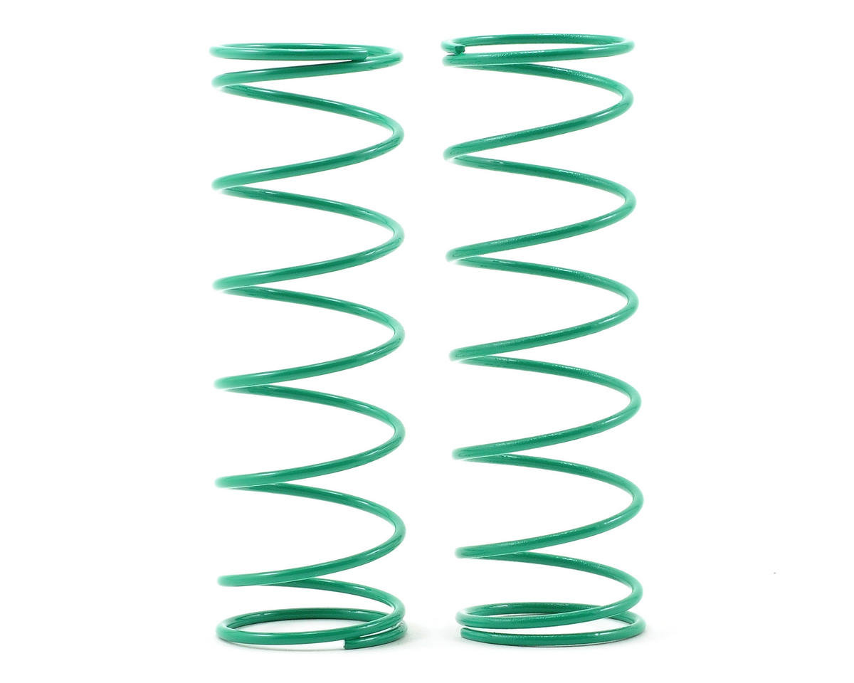 70mm Big Bore Front Shock Spring (Green) (2) by Kyosho