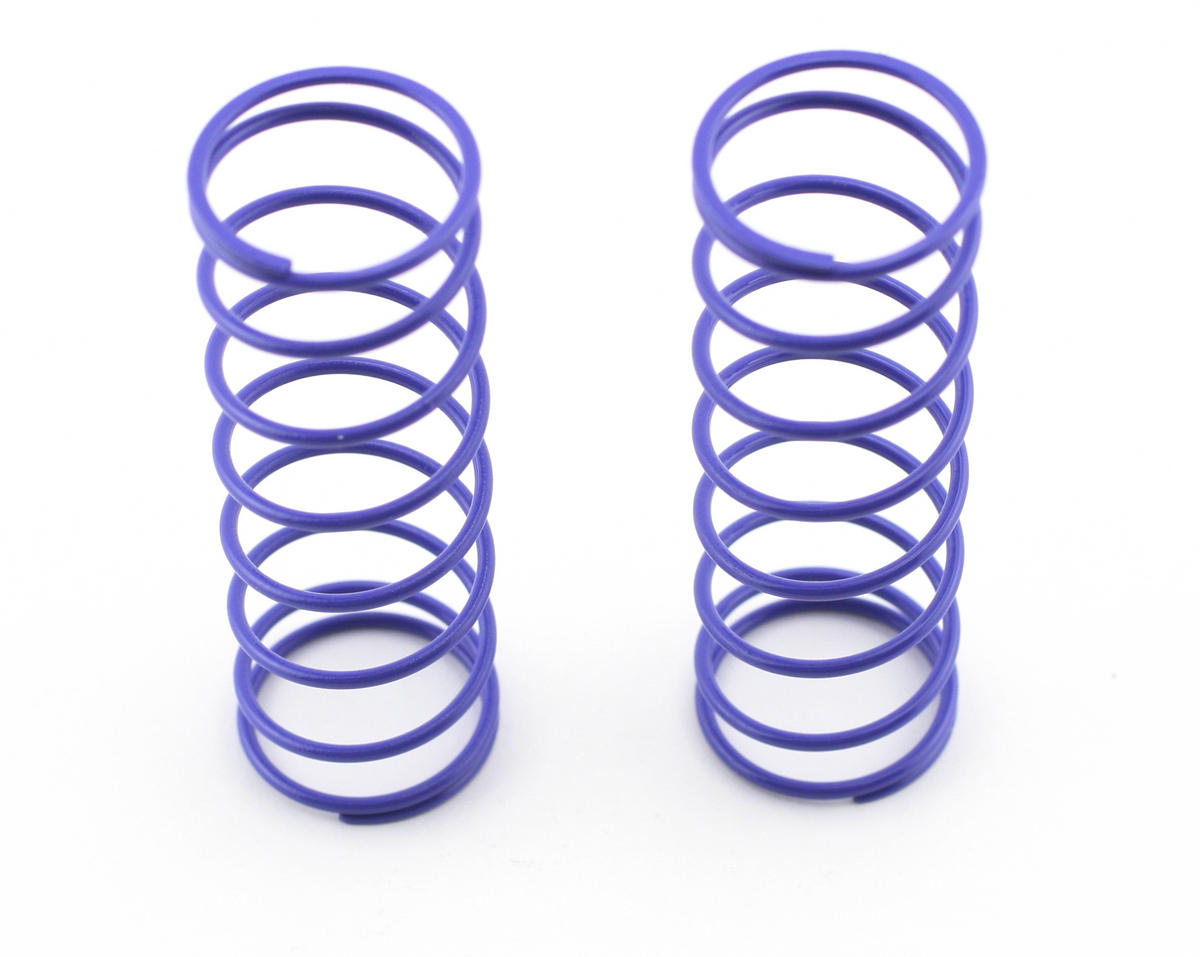 70mm Big Bore Front Shock Spring (Purple) (2) by Kyosho