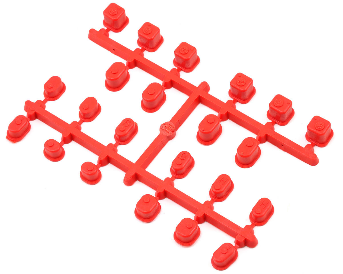Suspension Bushing Set (Red) by Kyosho