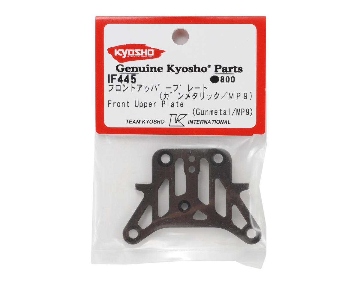 Steering Upper Plate (Gunmetal) by Kyosho