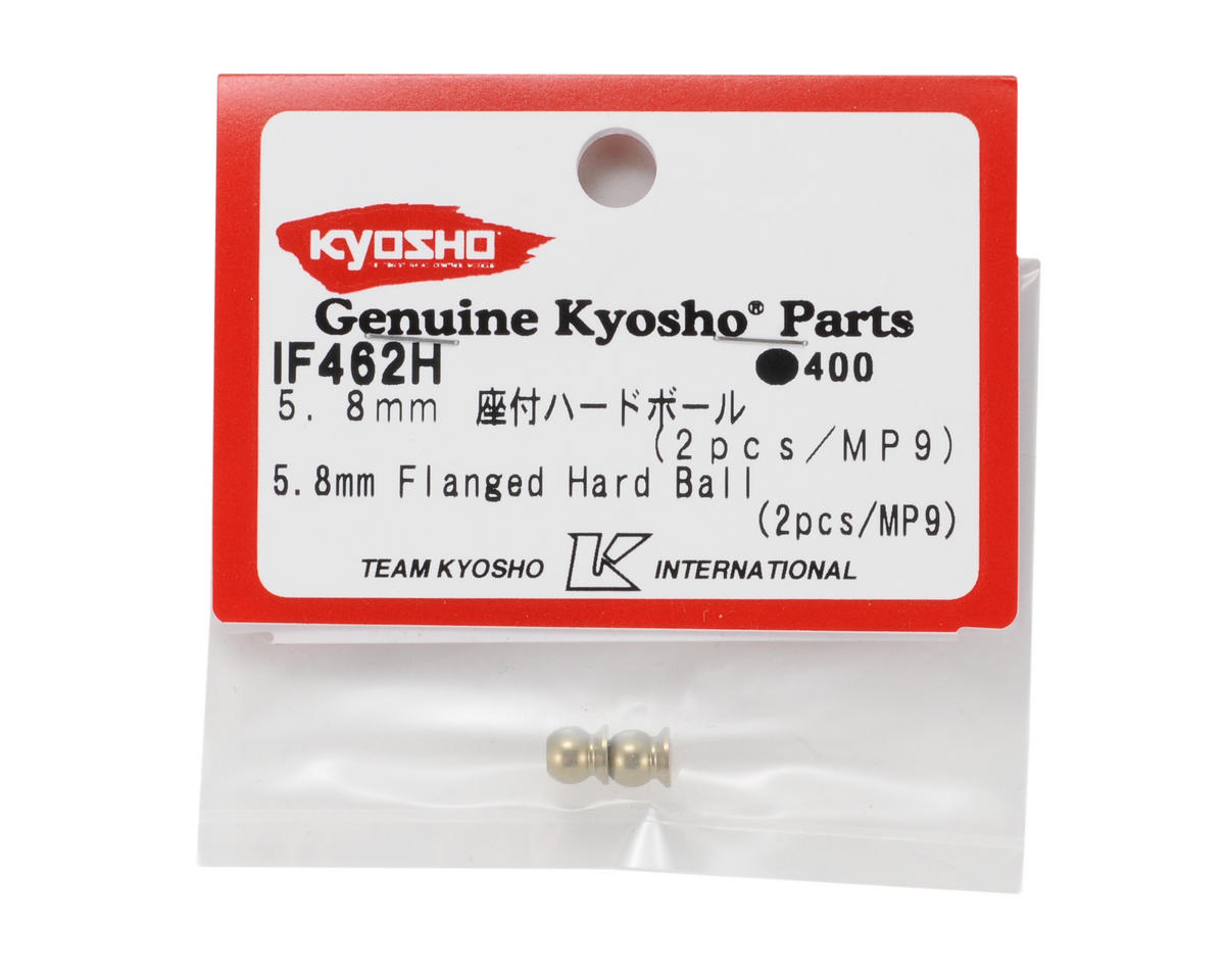5.8mm Hard Anodized 7075 Flanged Ball (2) by Kyosho