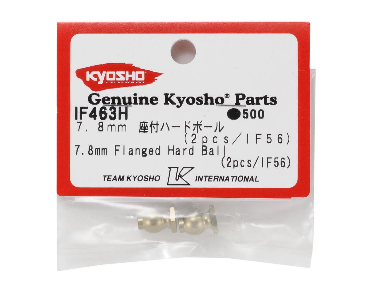 7.8mm Hard Anodized 7075 Flanged Ball (2) by Kyosho