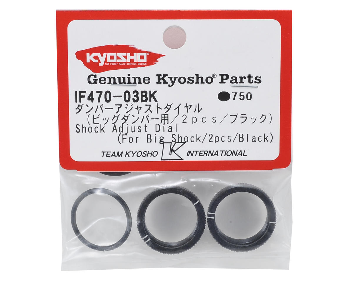 Kyosho MP9 TKI4 Big Bore Shock Adjust Dial Nut (2)