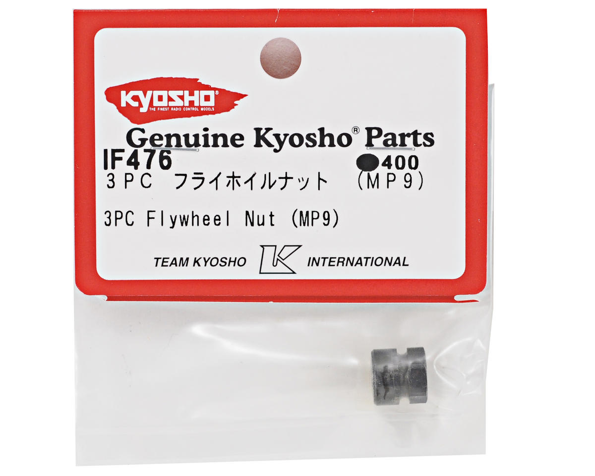 Kyosho 3 Piece TKI Flywheel Clutch Nut