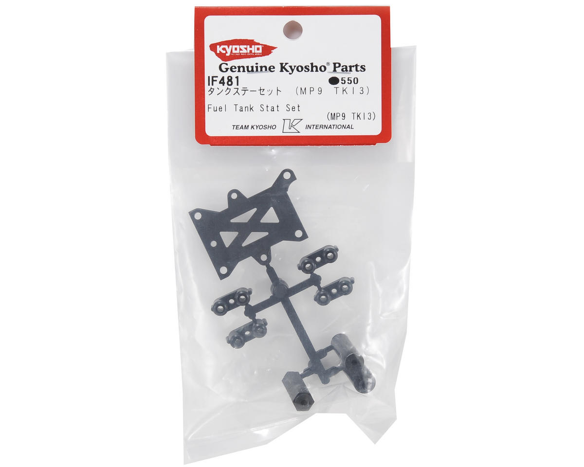 Kyosho Fuel Tank Stay & Servo Tray Parts Set (TKI3)