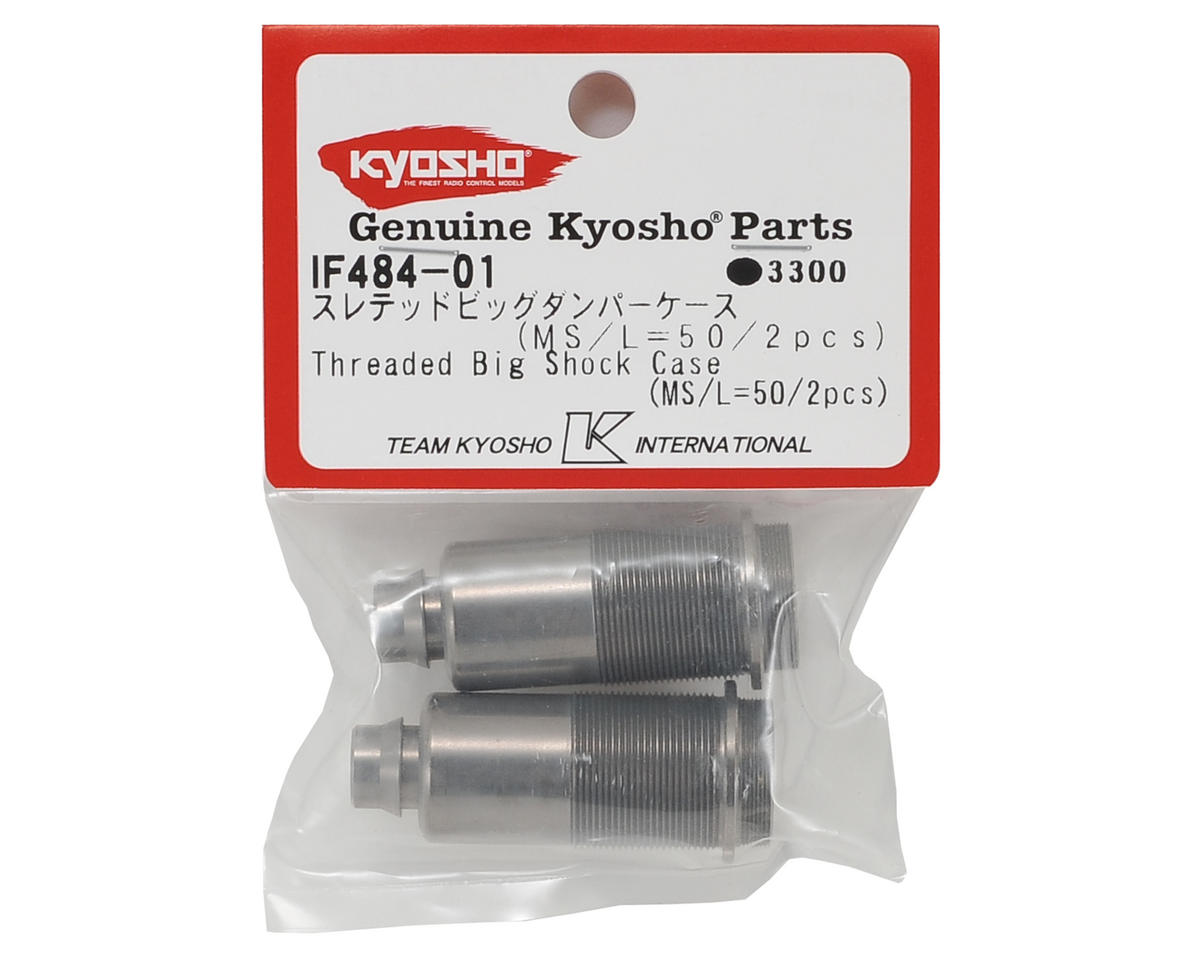 Kyosho 50mm MP9 MS Threaded Big Shock Case Body (2) (Medium/Short)