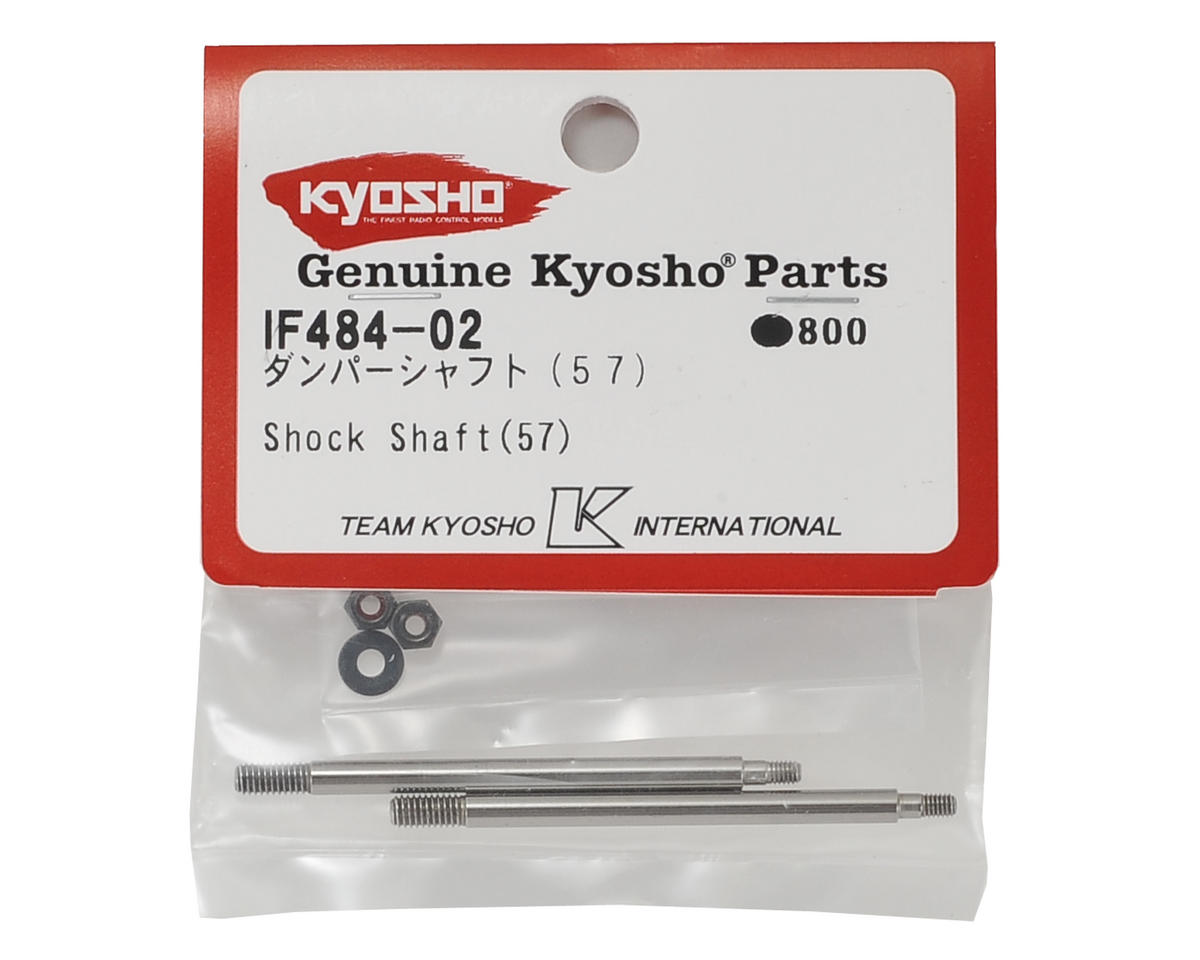 57mm Shock Shaft (2) by Kyosho