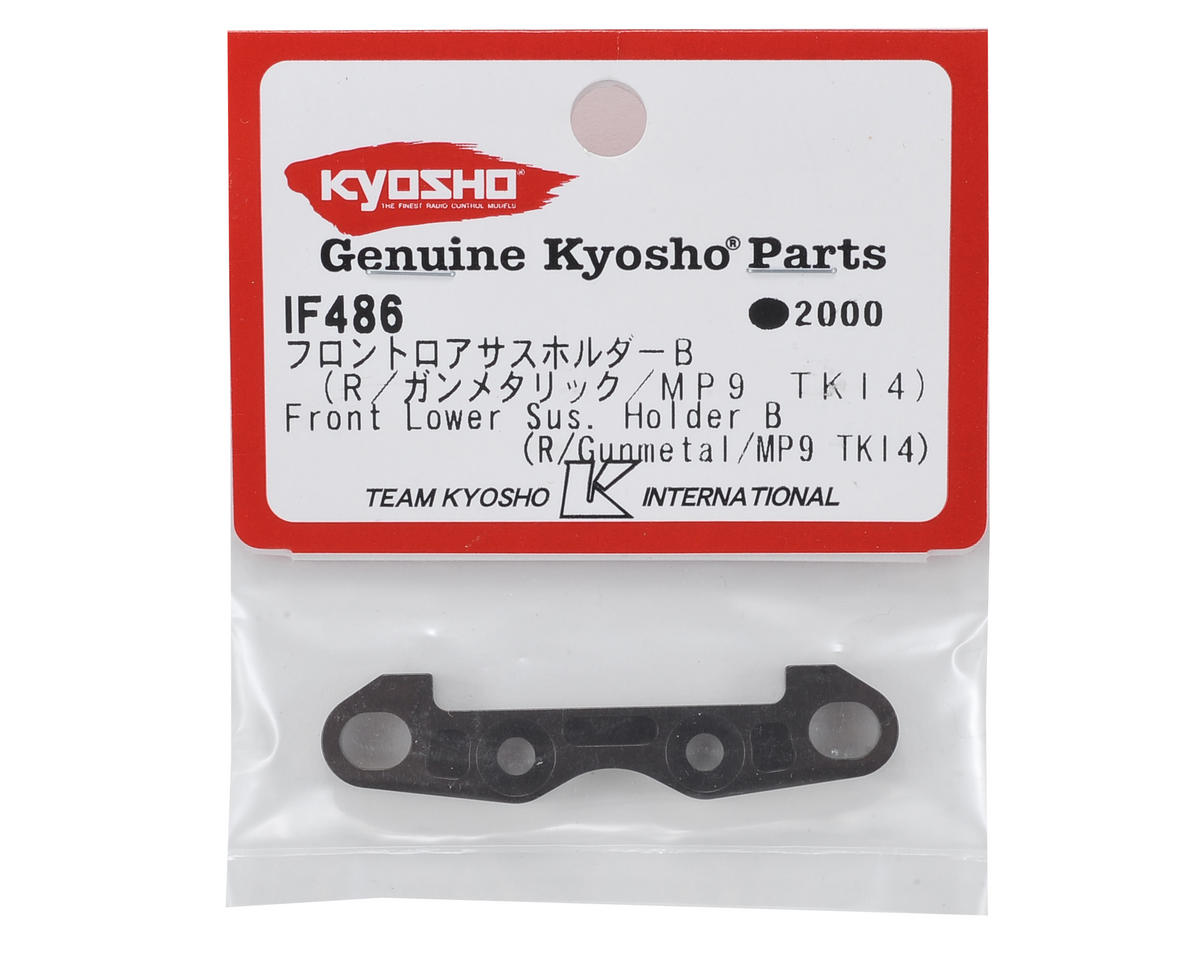 "Kyosho MP9 TKI4 Aluminum Front Lower Suspension Holder ""B"""