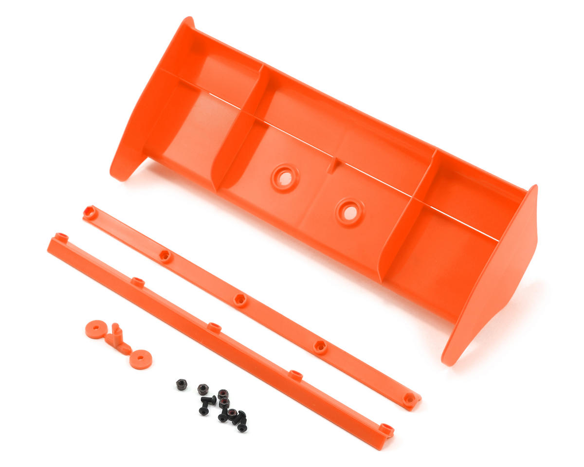 Kyosho MP9 TKI4 1/8 Plastic Wing w/Wickerbills (Orange)