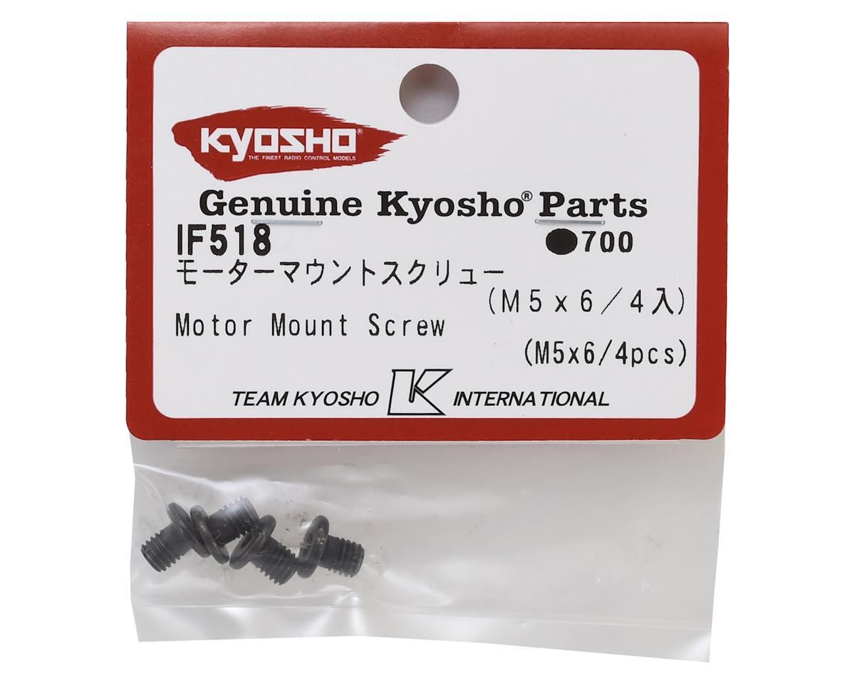 Kyosho 5x6mm Motor Mount Screws (4)