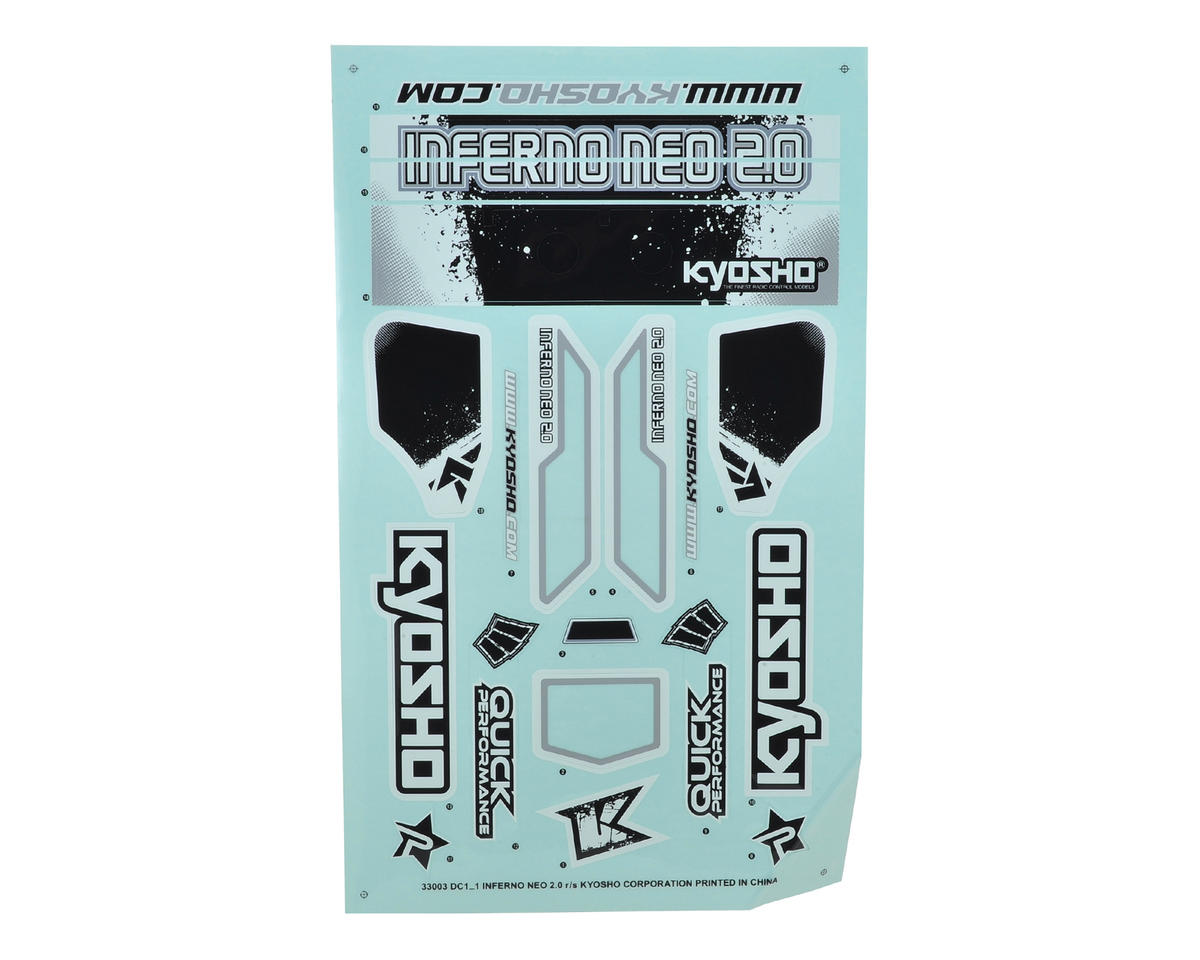 Kyosho Inferno Neo 2.0 Decal Sheet