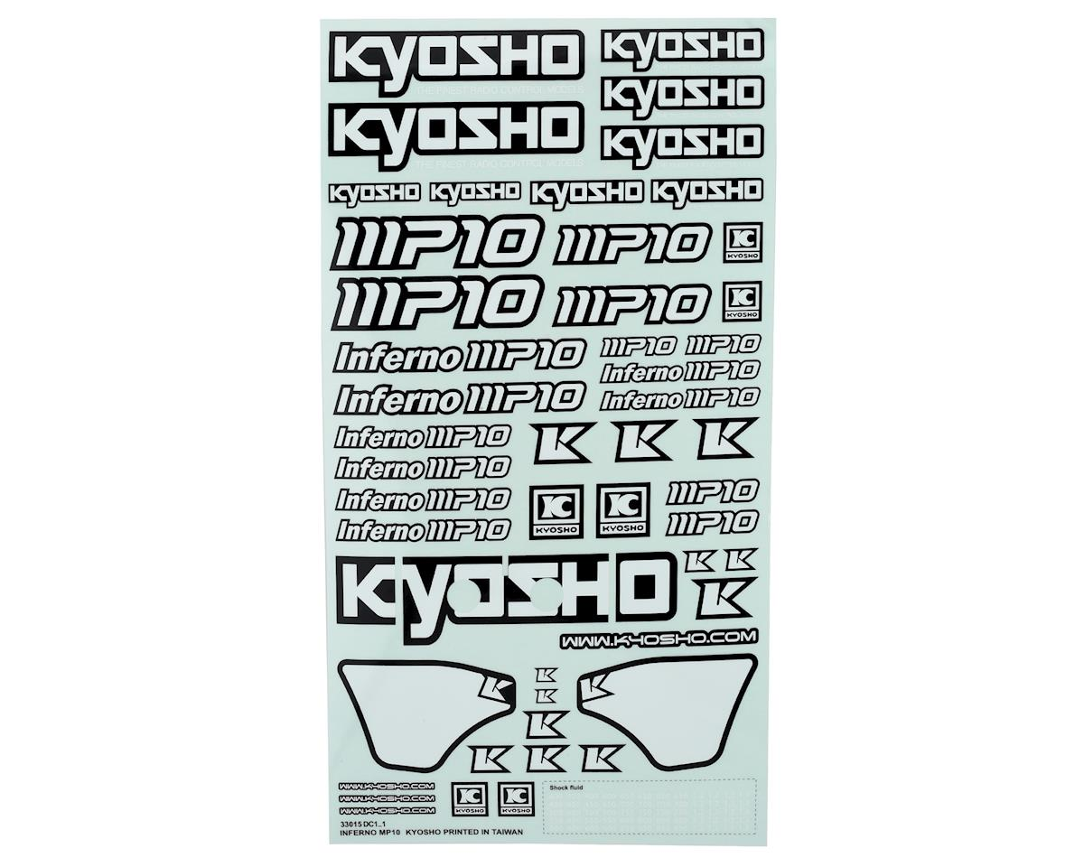Kyosho Inferno MP10 Decal Sheet