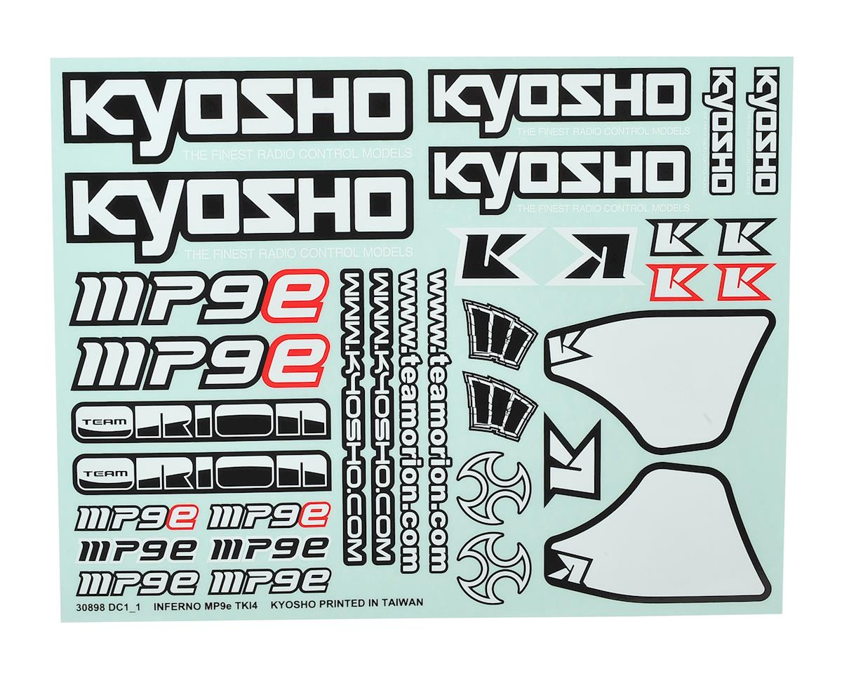 Kyosho MP9 TKI4 Decal Sheet