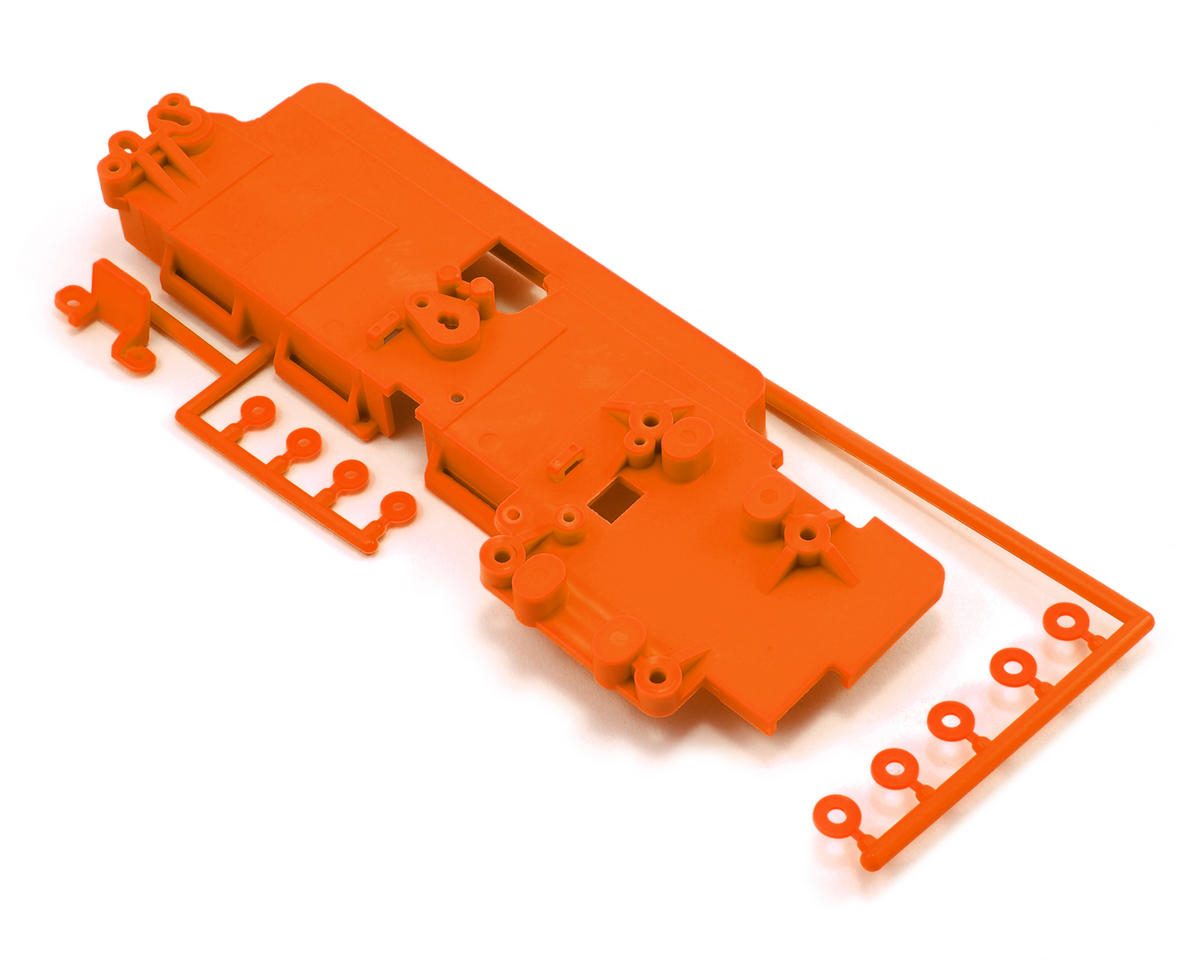 Battery Tray Set (Orange) by Kyosho