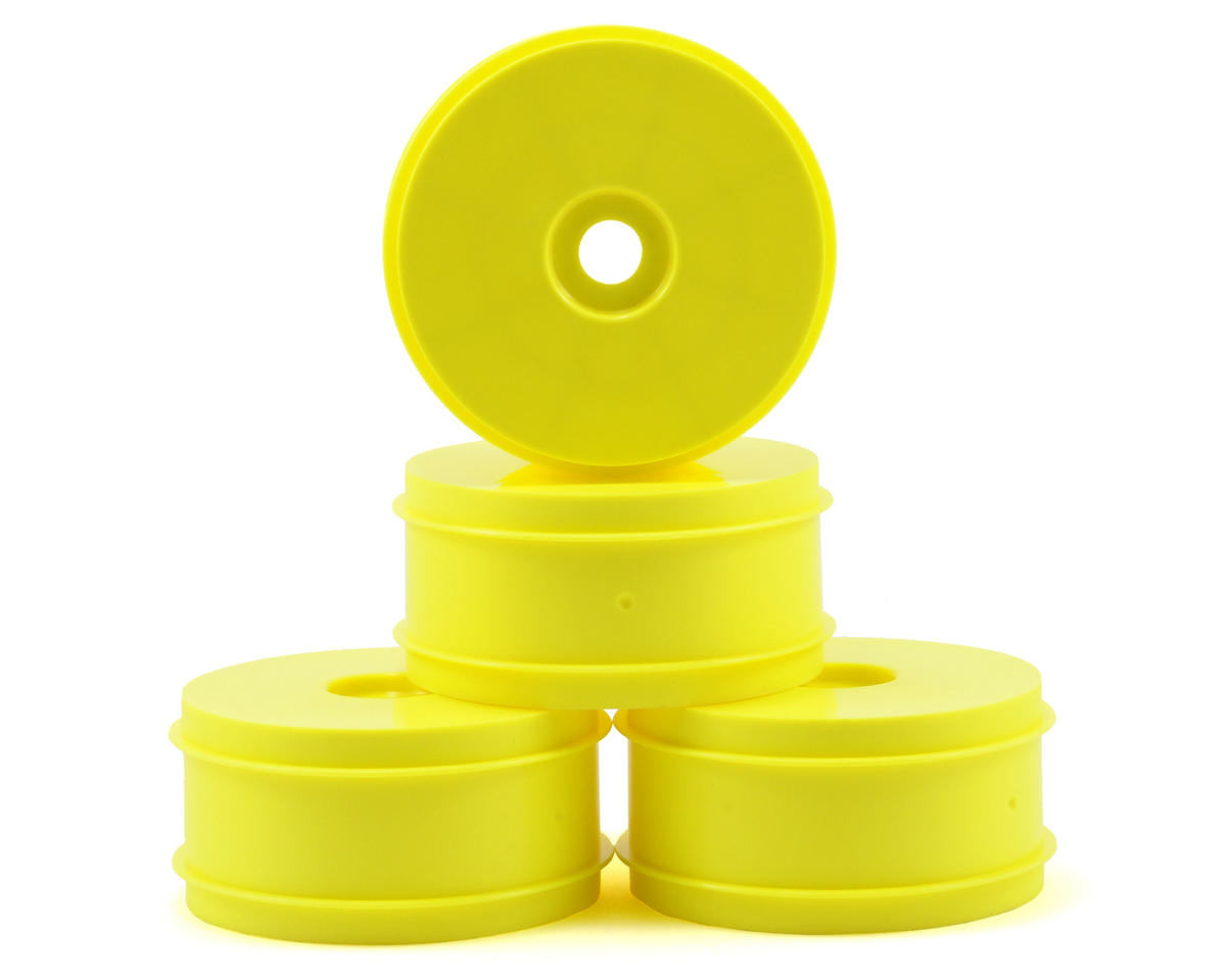 1/8th Off Road Dish Wheels (4) (Yellow) by Kyosho