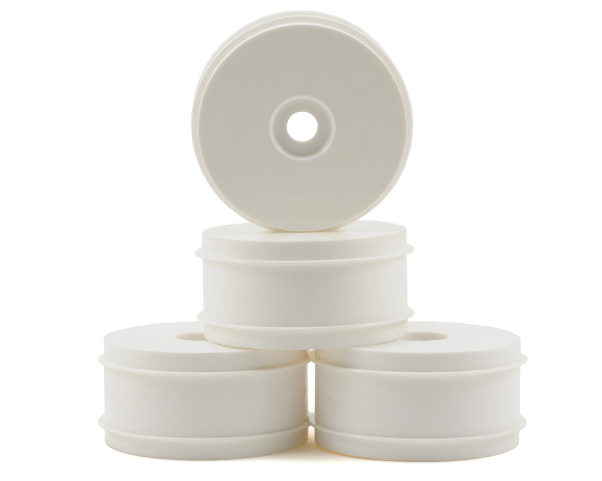 1/8th Off Road Dish Wheels (4) (White) by Kyosho