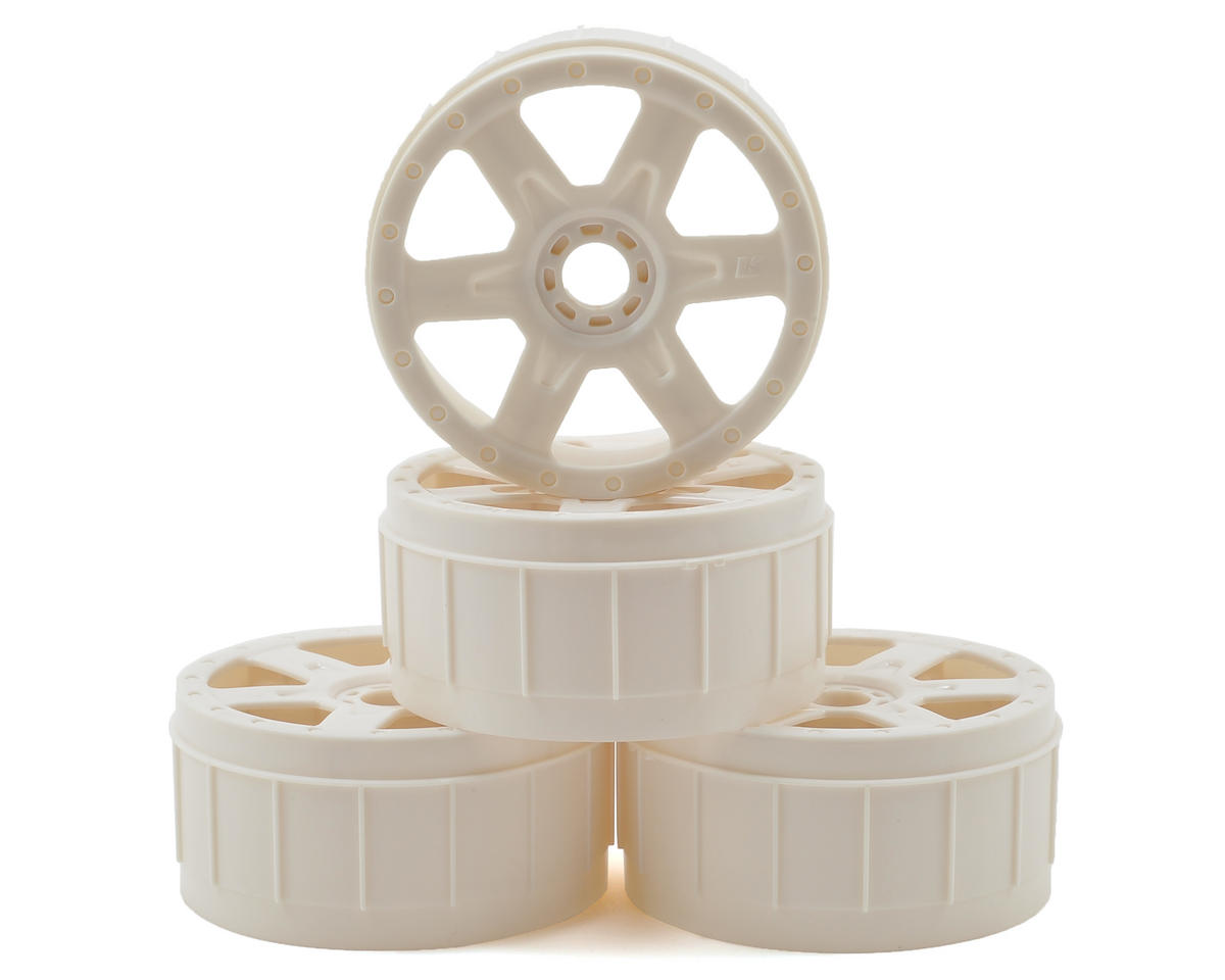 Kyosho 6-Spoke 1/8 Wheel (4) (White)