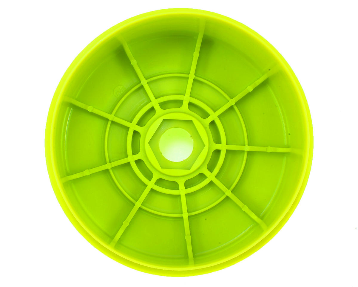 Kyosho MP9 TKI4 1/8th Off Road Dish Wheels (4) (Yellow)