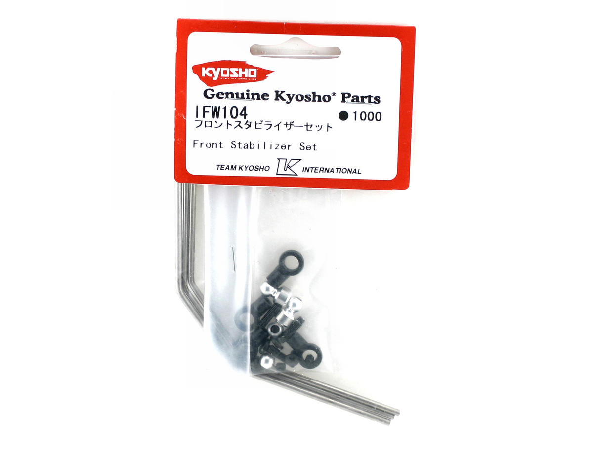 Kyosho Front Sway Bar Set (2.1mm, 2.3mm, 2.5mm)