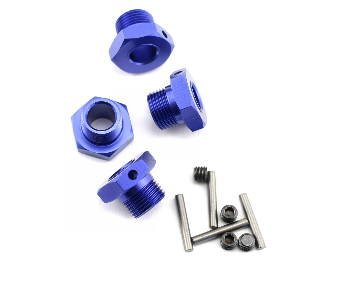 Blue 17mm Wheel Hub (4) by Kyosho