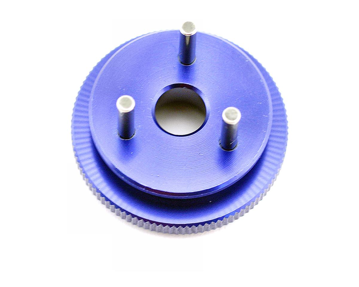 3-Shoe 34mm Blue Anodized Flywheel by Kyosho