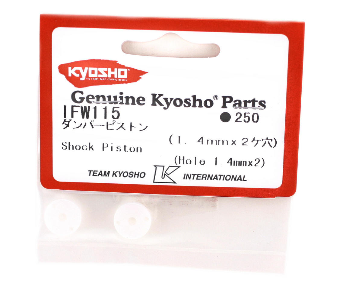 Kyosho 1.4x2mm Shock Pistons (2)