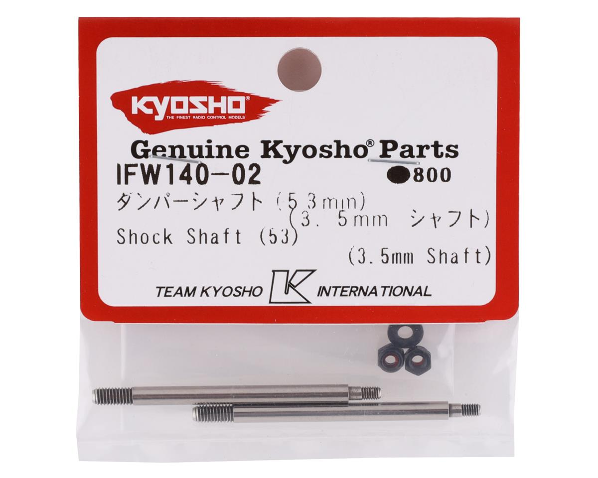 Front 3.5mm Shock Shaft (2) by Kyosho