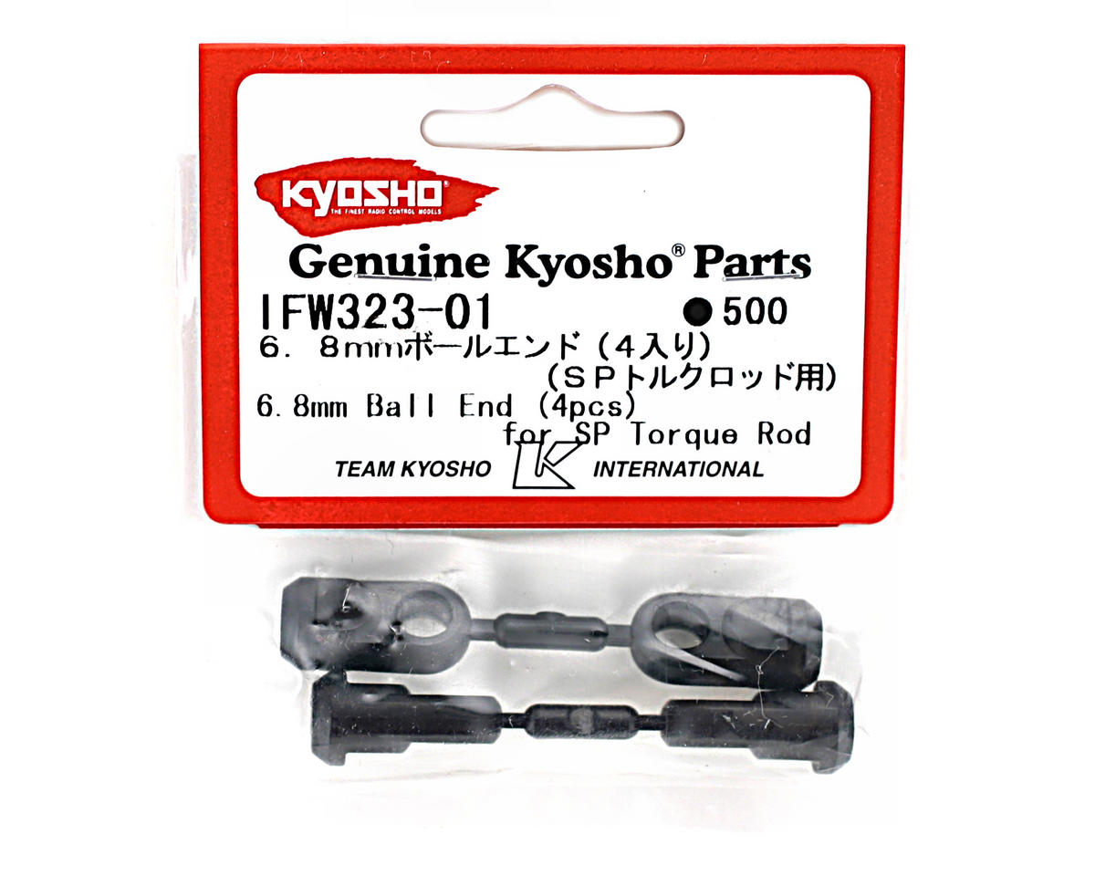 Special Torque Rod 6.8mm Ball Ends (MP777, ST-R) (4) by Kyosho