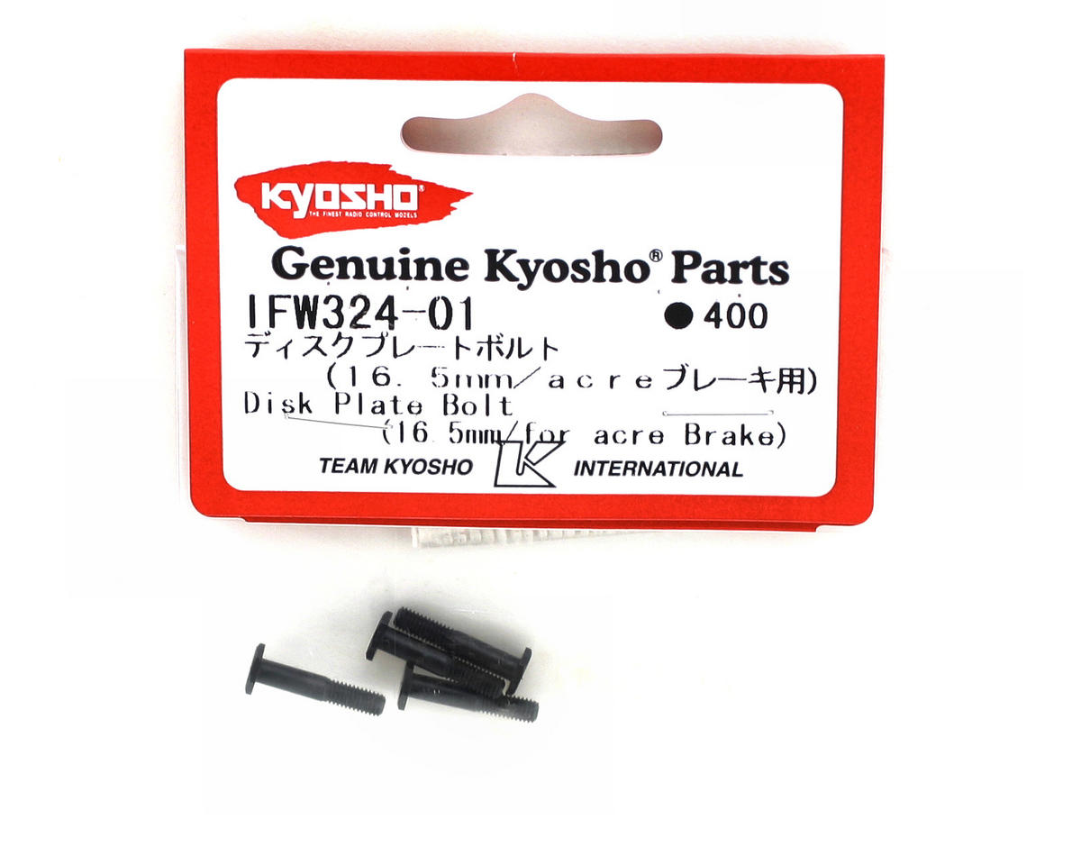 Kyosho 16.5mm Brake Disc Bolts (4)