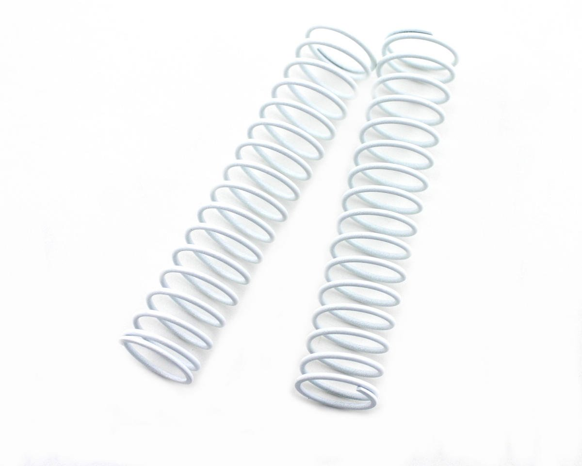 Kyosho Rear Shock Springs (Stiff - White) (2)