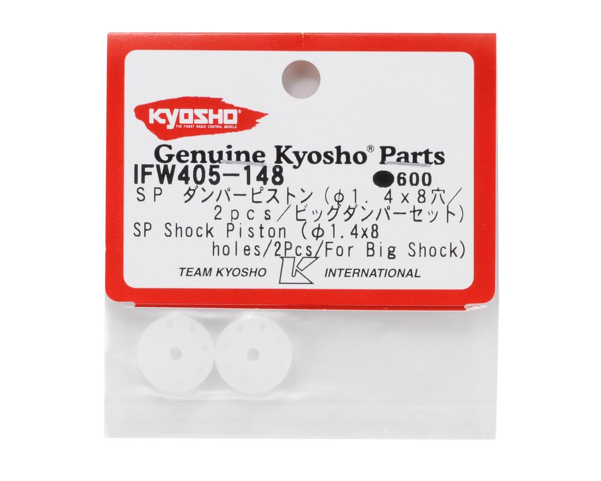 Kyosho SP Big Shock Piston (1.4 x 8 hole) (2)