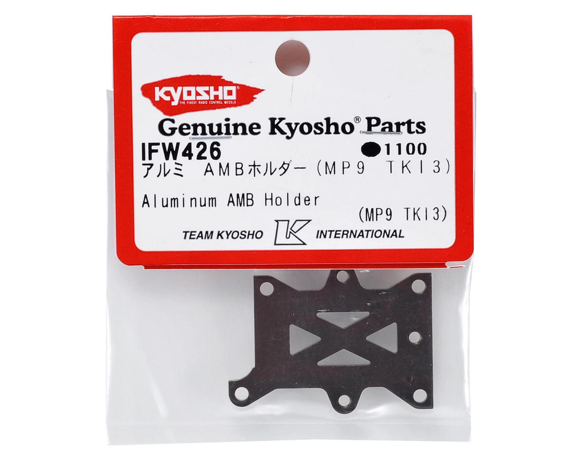 Kyosho Aluminum Transponder Holder (Gun Metal) (TKI3/TKI4)