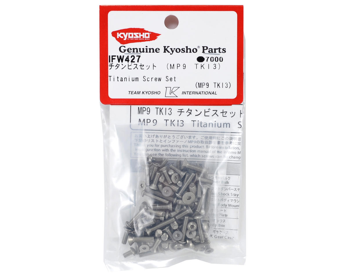 Kyosho Titanium Screw Set (TKI3/TKI4)