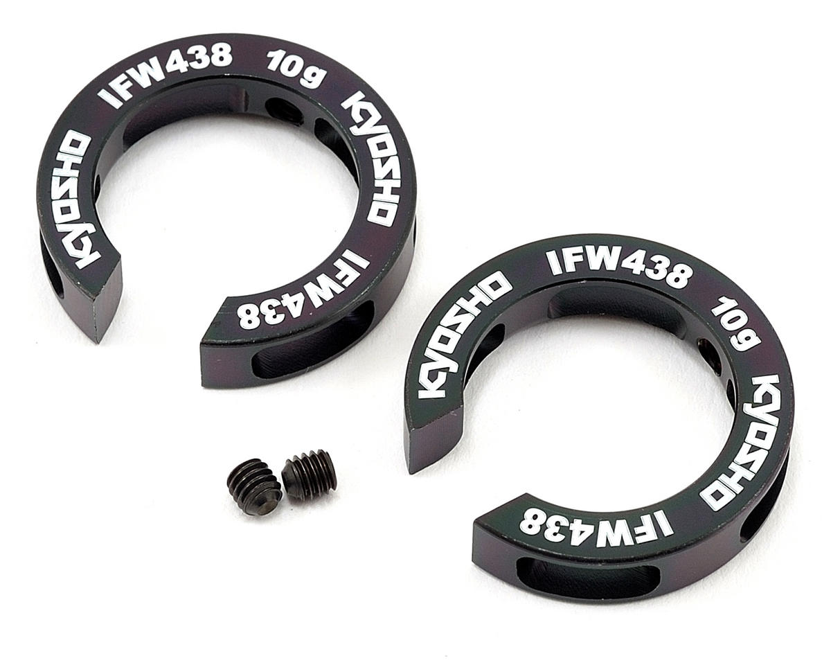 Kyosho Rear Hub Carrier Weight Set (10g) (2)