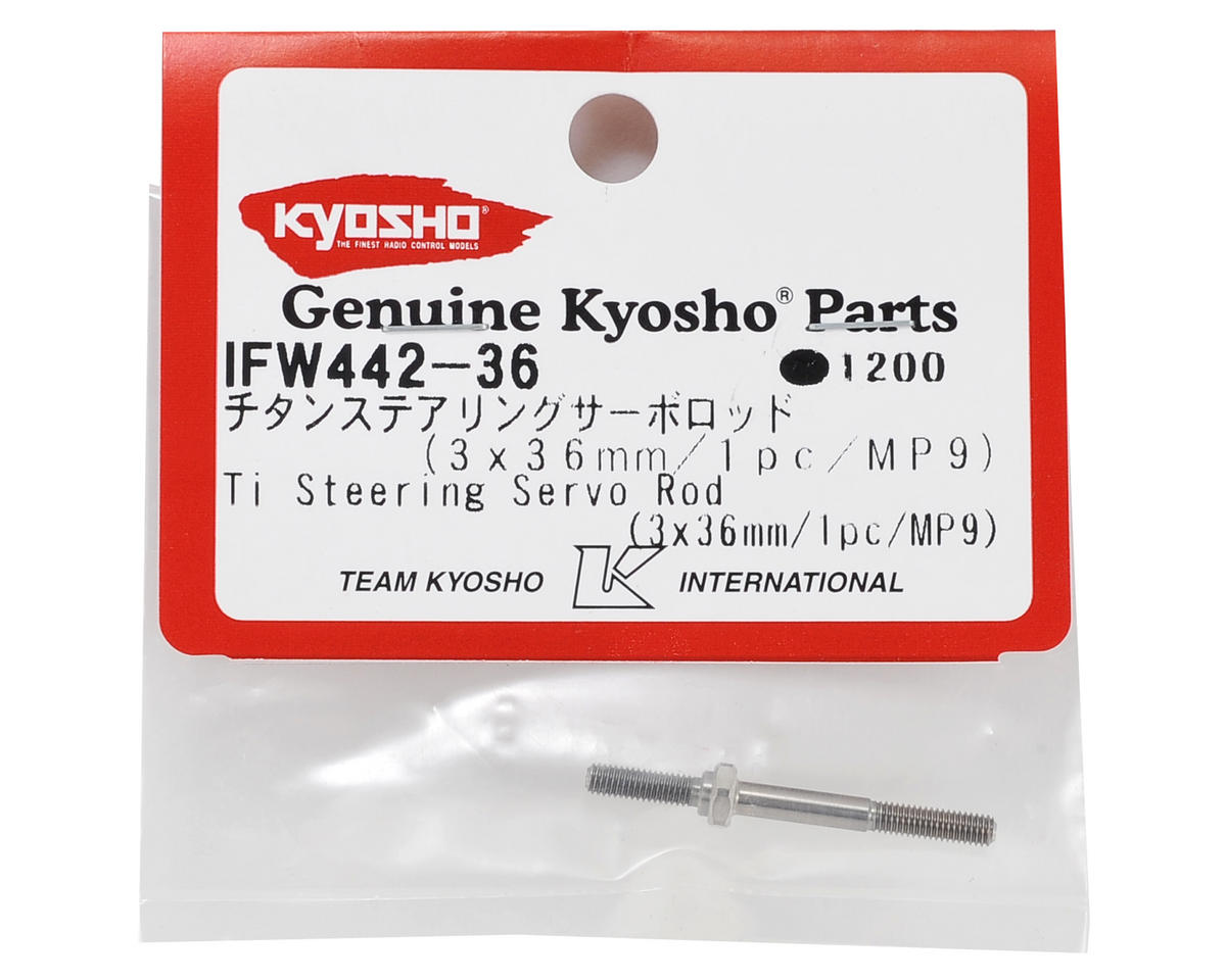 MP9 Titanium Steering Servo Turnbuckle by Kyosho