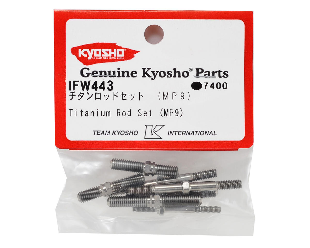 Kyosho MP9 Titanium Tunbuckle Set