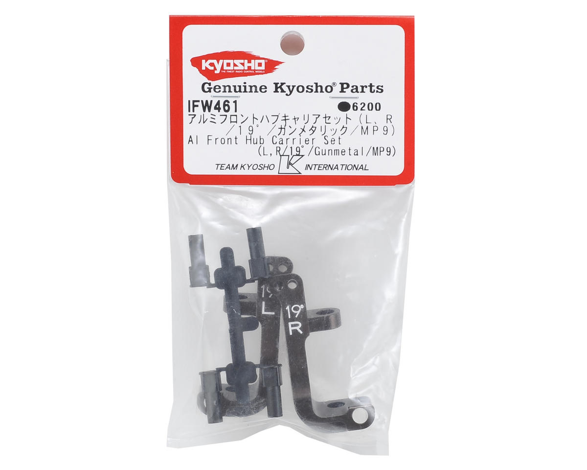 Aluminum Front Hub Carrier Set (19°) by Kyosho