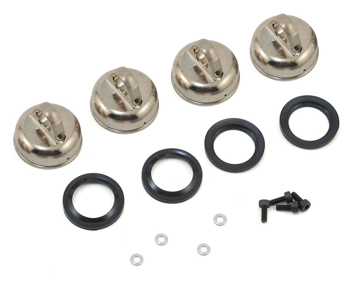 Kyosho Inferno MP9e TKI Threaded Big Bore Shock Aeration Cap Set (4)