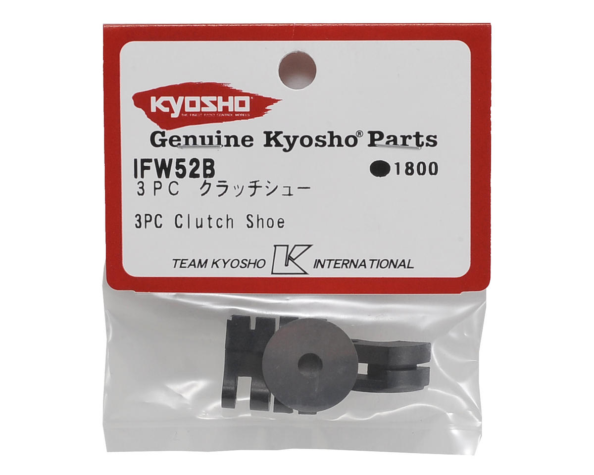 Carbon Clutch Shoes (3) by Kyosho