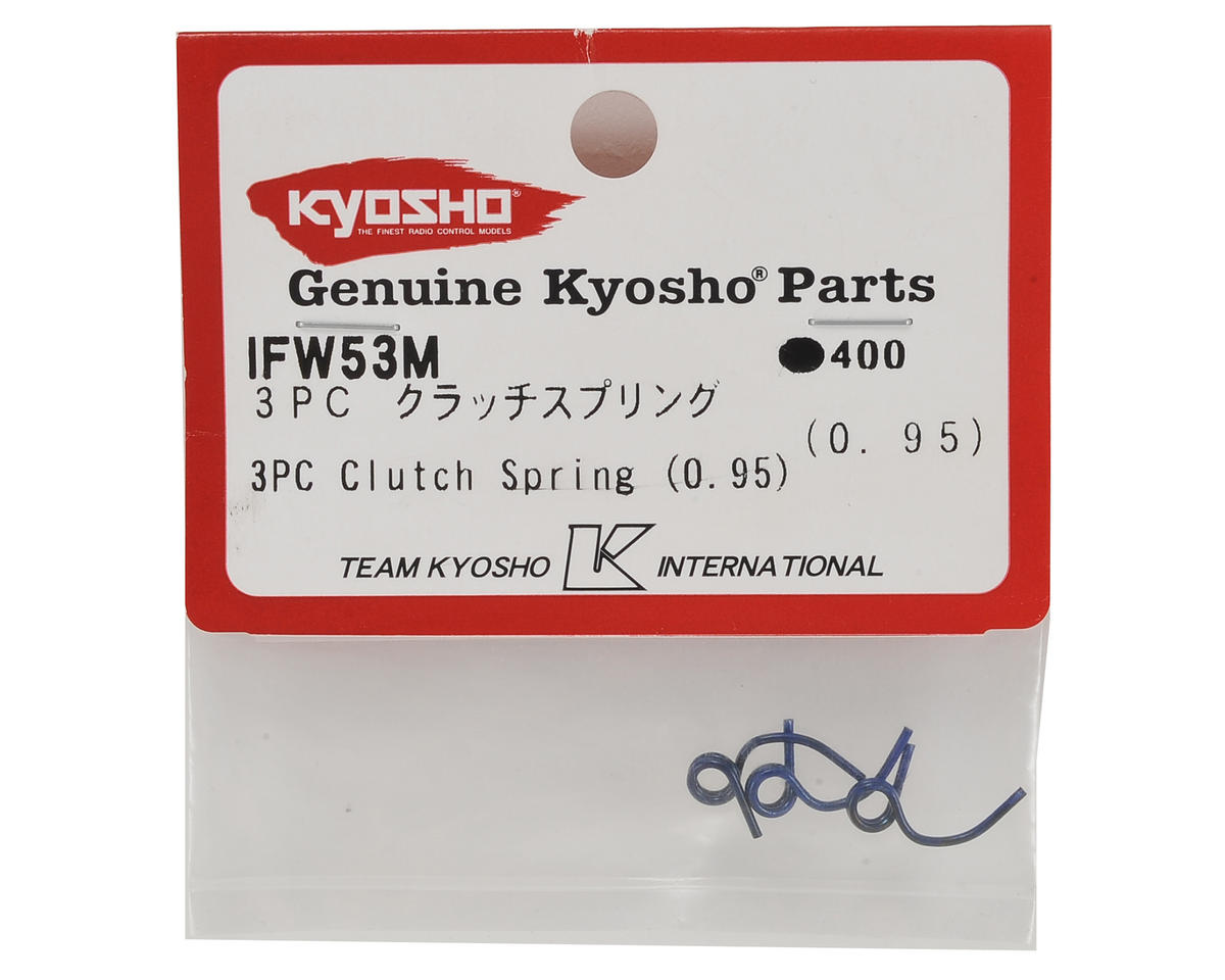 Kyosho 0.95mm Clutch Springs (3)