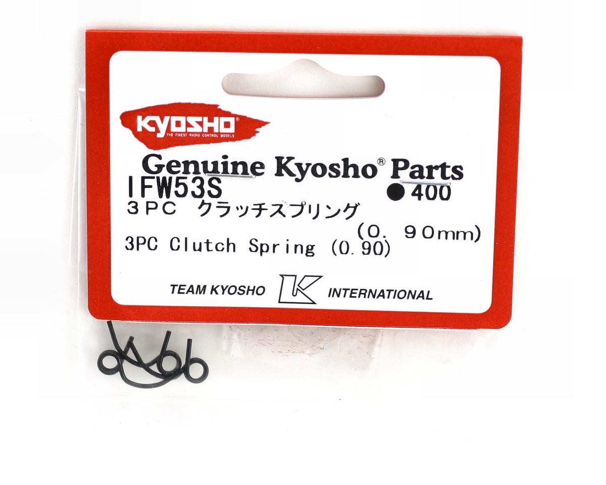 Kyosho 0.90mm Clutch Springs (3)