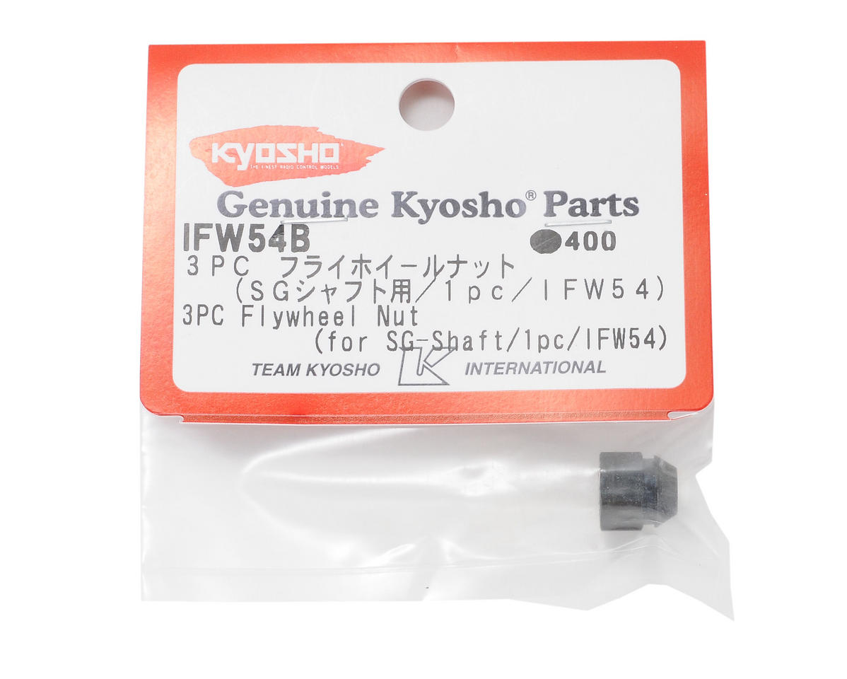 Kyosho 3-Piece Flywheel Nut (for SG-Shaft)