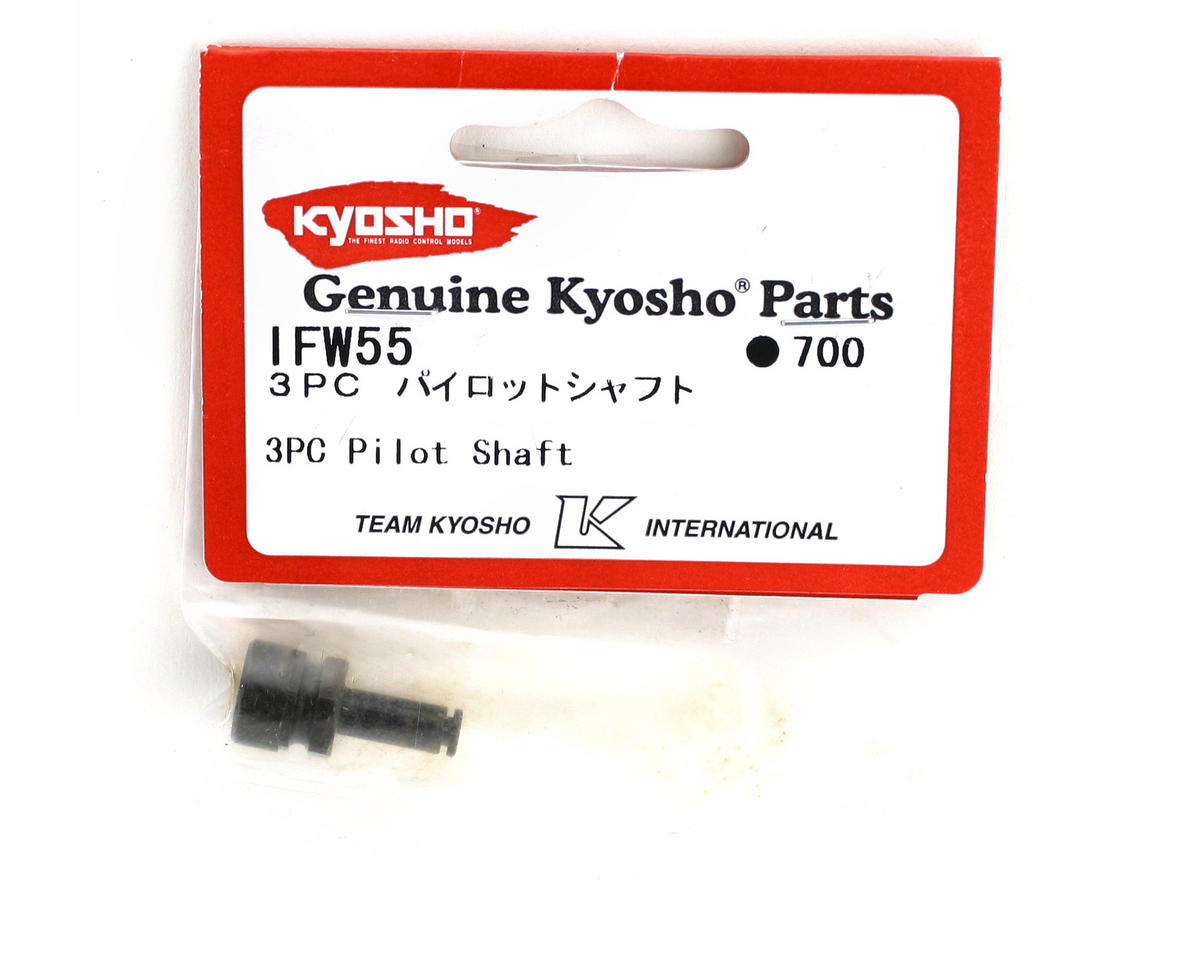 Kyosho 3pc Pilot Shaft Clutch Nut
