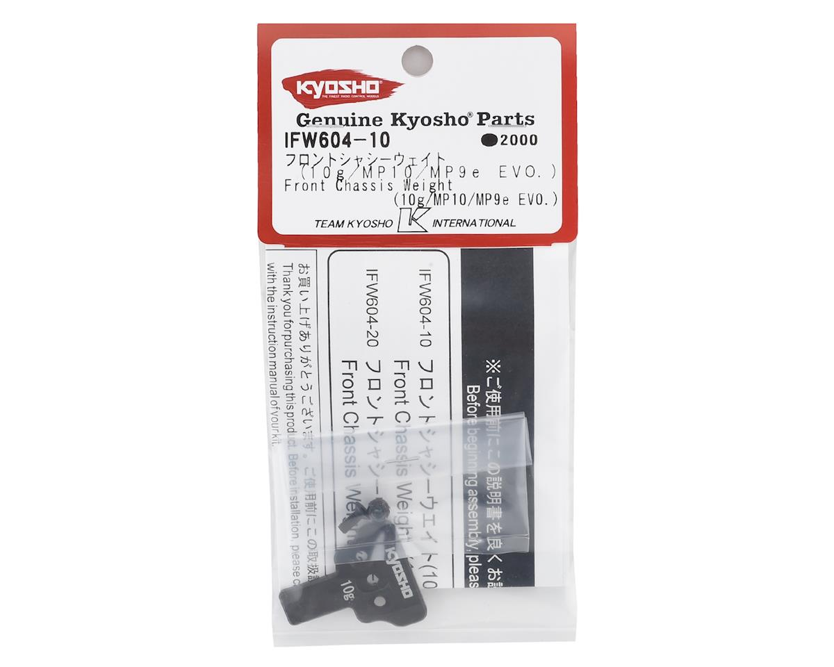 Kyosho MP10 Front Chassis Weight (10g)