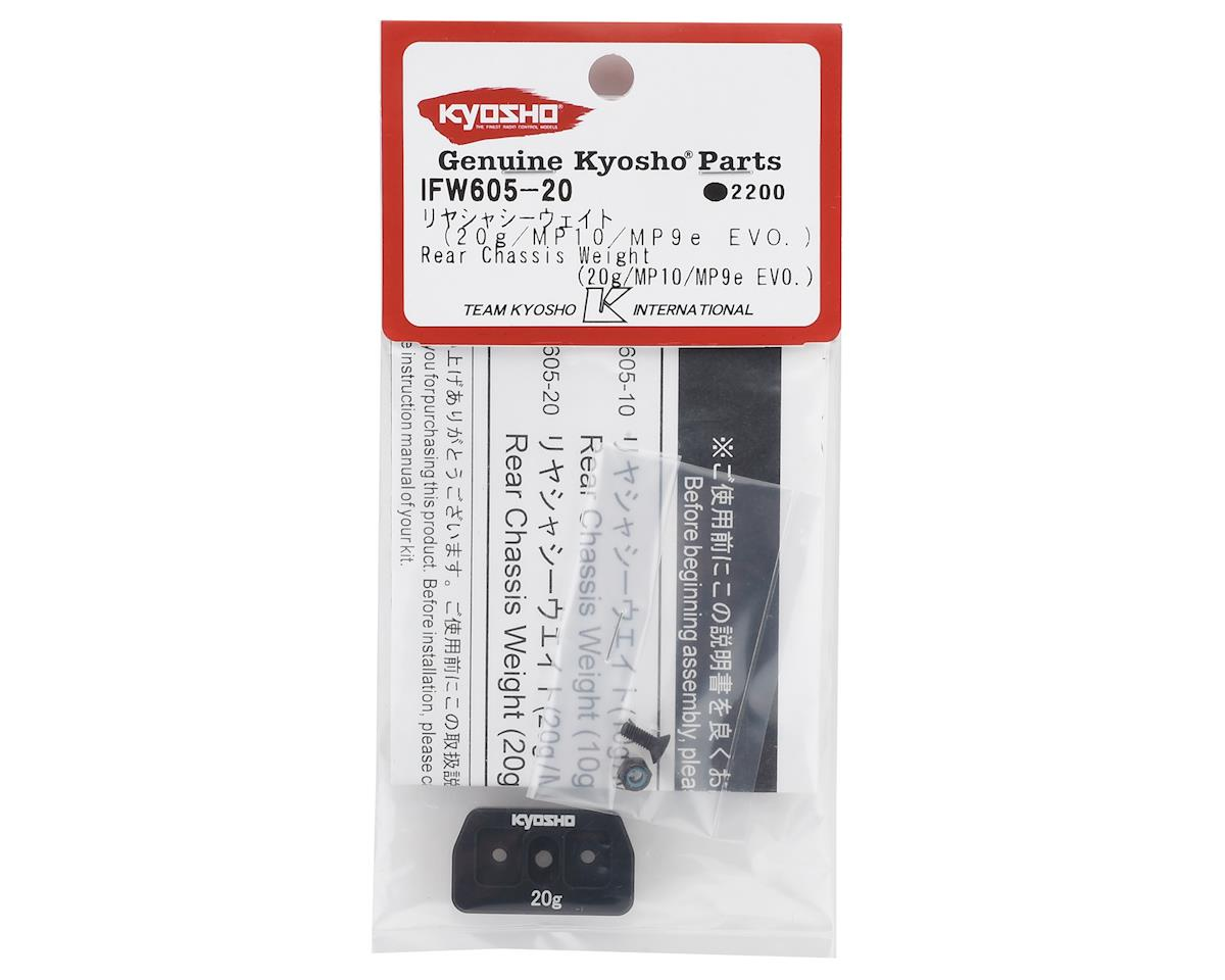 Kyosho MP10 Rear Chassis Weight (20g)