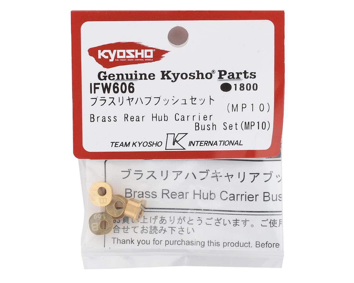 Kyosho Brass Rear Hub Carrier Bushing Set (MP10) (1.6g Each)